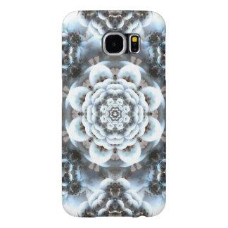 Snow Serenity Mandala Samsung Galaxy S6 Cases