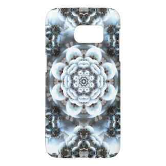Snow Serenity Mandala Samsung Galaxy S7 Case