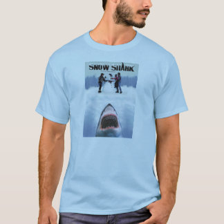 Snow Shark - Teaser art T-shirt
