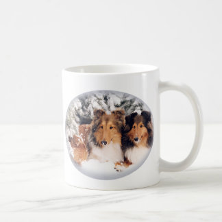 Snow Shelties Mug