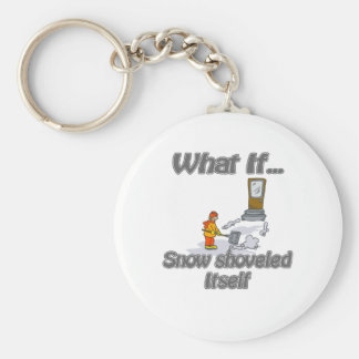 Snow Shovel Keychain
