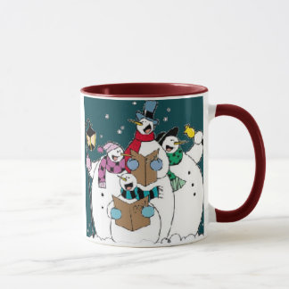 Snow Singing! Mug