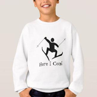 snow ski sweatshirt