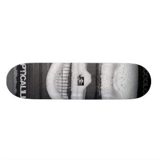 Snow skull board skateboards