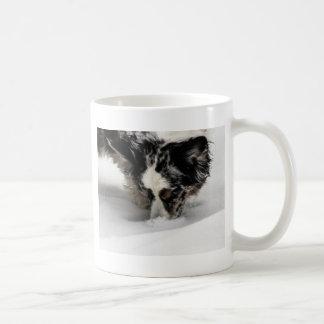 Snow Snout Corgi Coffee Mug