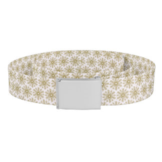 snow Snowflake Decorative Winter Belt