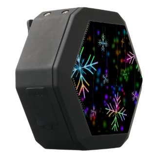 Snow Star Black Bluetooth Speaker