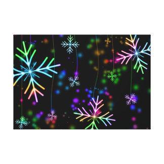 Snow Star Canvas Print
