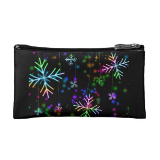 Snow Star Cosmetic Bag