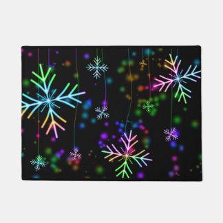 Snow Star Doormat