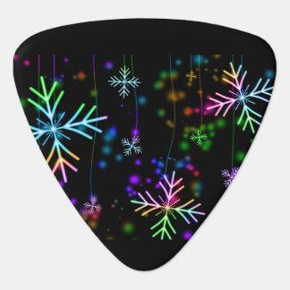 Snow Star Guitar Pick