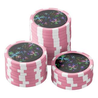 Snow Star Poker Chips