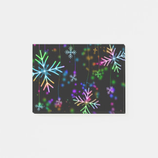 Snow Star Post-it Notes