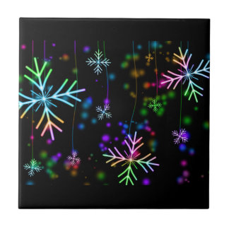 Snow Star Tile
