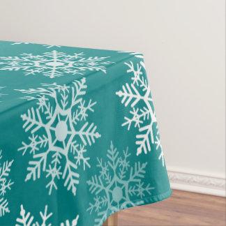 Snow Stars - Christmas Decor - Table Cloth