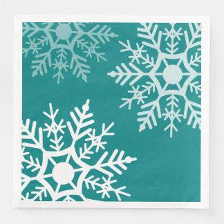 Snow Stars - Christmas - Paper Napkin
