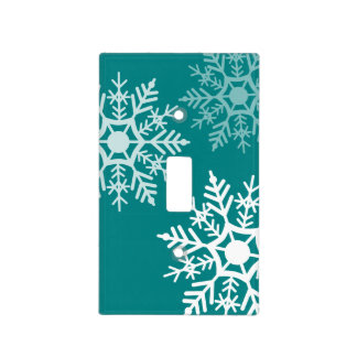 Snow Stars - Light Switch Cover