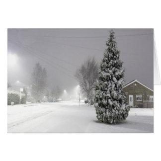 Snow Storm Card
