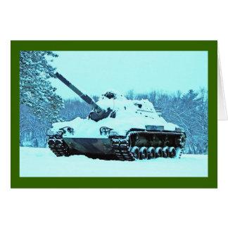 Snow Tank Card