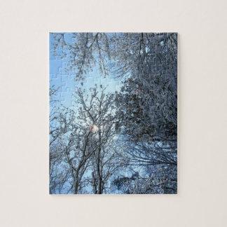 Snow Trees Zigsaw Puzzle - Hard Puzzles