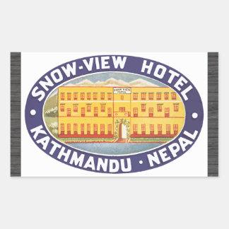 Snow-View Hotel Kathmandu Nepal, Vintage