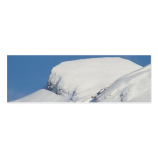 Snow visiting card business cards