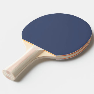 Snow White and Dark Blue Ping Pong Paddle