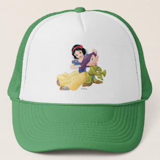 Snow White And Dopey Trucker Hat