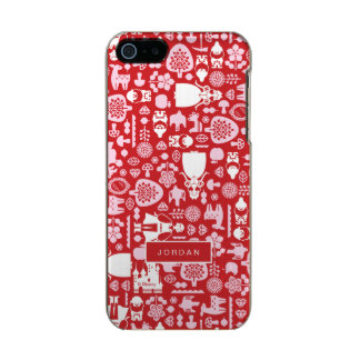Snow White and Friends Pattern | Add Your Name Incipio Feather® Shine iPhone 5 Case