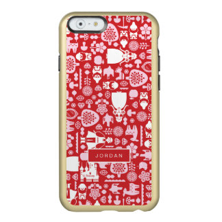 Snow White and Friends Pattern | Add Your Name Incipio Feather® Shine iPhone 6 Case
