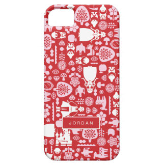 Snow White and Friends Pattern | Add Your Name iPhone 5 Cases