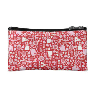 Snow White and Friends Pattern Makeup Bag