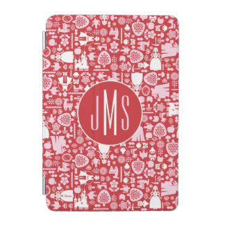 Snow White and Friends Pattern | Monogram iPad Mini Cover