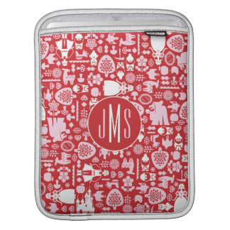 Snow White and Friends Pattern | Monogram iPad Sleeve