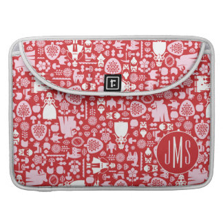Snow White and Friends Pattern | Monogram Sleeve For MacBooks