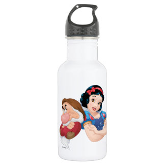 Snow White And Grumpy 532 Ml Water Bottle