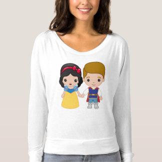 Snow White and Prince Charming Emoji 2 T-shirt
