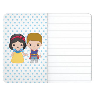 Snow White and Prince Charming Emoji Journals