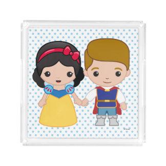 Snow White and Prince Charming Emoji Perfume Tray