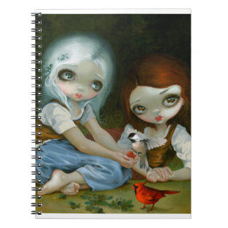 """""""Snow White and Rose Red"""" Notebook"""