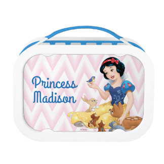 Snow White and the Forest Animals - Personalized Lunch Box