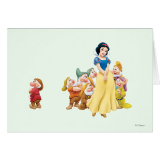 Snow White and the Seven Dwarfs 1 Card
