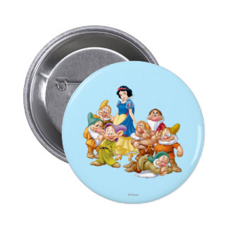 Snow White and the Seven Dwarfs 2 2 Inch Round Button