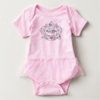 Snow White and the Seven Dwarfs | Fairest of All Baby Bodysuit