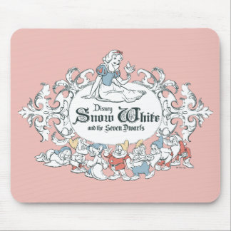 Snow White and the Seven Dwarfs | Fairest of All Mouse Pad