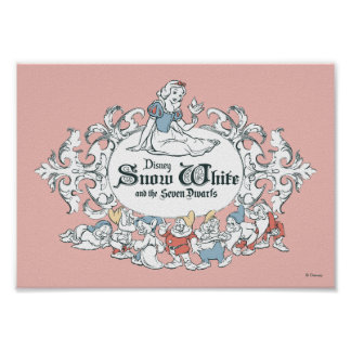 Snow White and the Seven Dwarfs | Fairest of All Poster