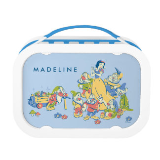 Snow White and the Seven Dwarfs taking a Break Lunch Box