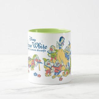 Snow White and the Seven Dwarfs taking a Break Mug