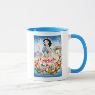 Snow White and the Seven Dwarfs with Evil Queen Mug