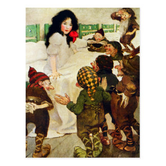 Snow White and the Seven Dwarves Postcard